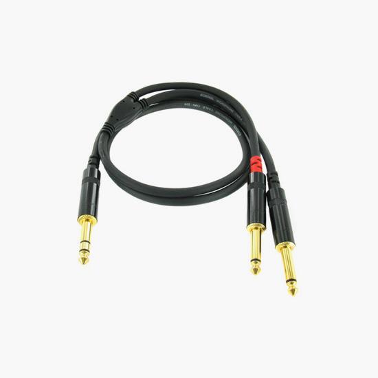 Cordial CFY 0.3 GPP Y-Adapterkabel 0,3 m